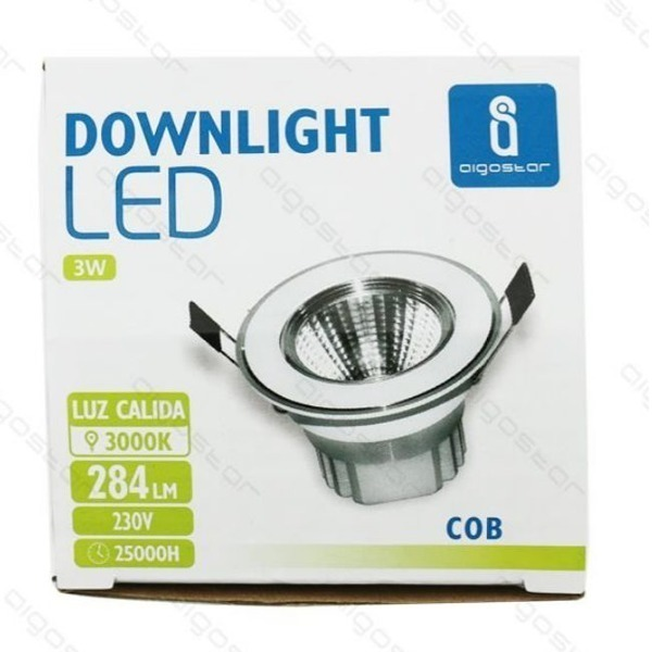 Downlight do zabudowy CEILING COB 3W