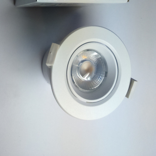 Downlight oczko LED 9W 85mm 3000K